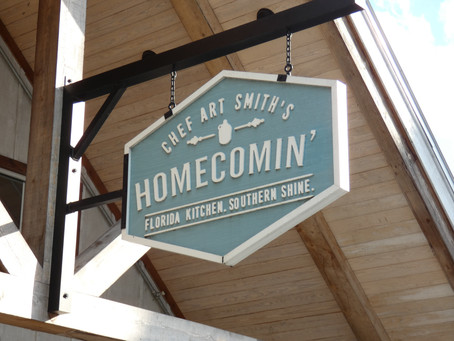 Where to Find Moonshine and Great Food in Disney Springs? Chef Art Smith's Homecomin!!