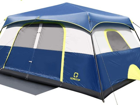 QOMTOP 9-Person Cabin Tent