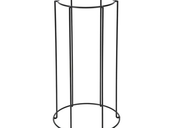 Metal Pot Stand [Black - 40cm x 21.5cm diameter]