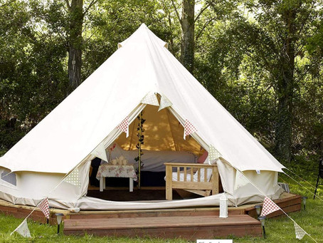 What are the best uses for Canvas Bell Tents?