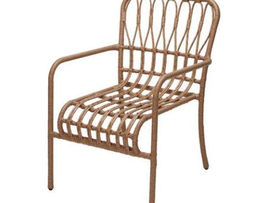 Rattan Look Armchair