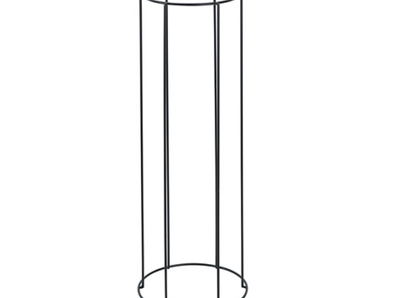 Metal Pot Stand [Black - 60cm x 21.5cm diameter]
