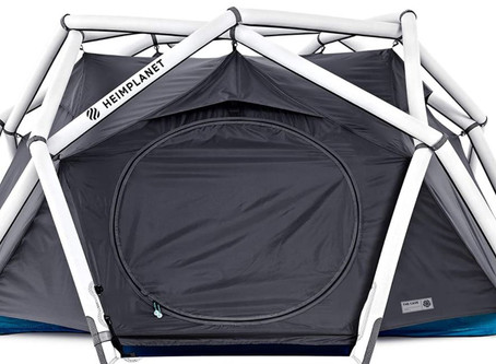 What exactly is the Inflatable Dome Tent?       Where can I use this new inflatable dome tent?