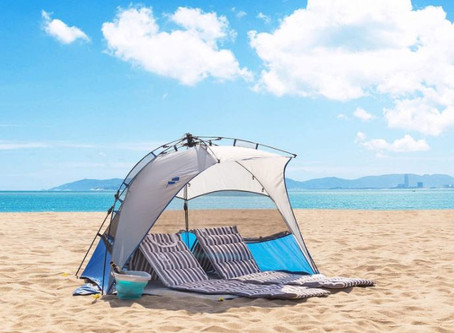 What Are The Top Pop Up Sun Shade Tents For The Beach?
