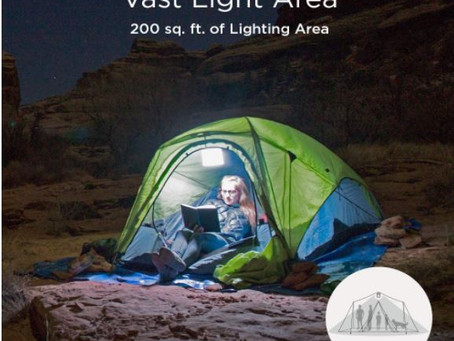 What are the useful items to bring on my first camping trip?