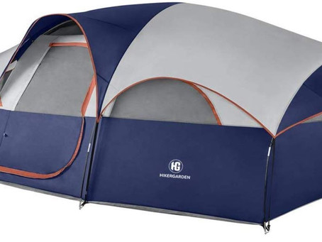 HikerGarden 8 Person Dome Tent