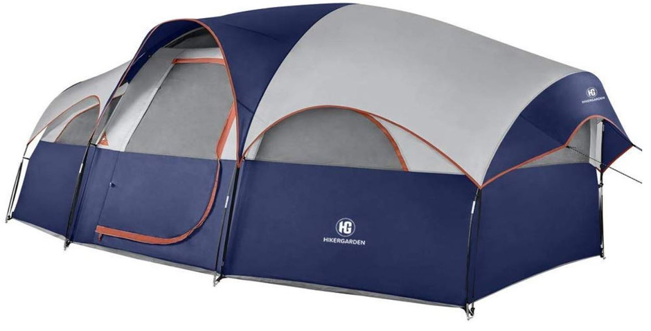 Best Large Family Dome Tent for 2020 The HikerGarden 8 Person Dome Tent