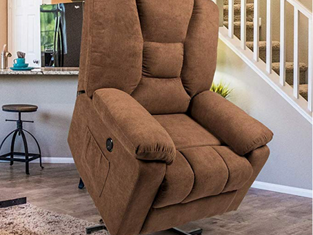 The Esright Microfiber Power Lift Electric Recliner Chair Review