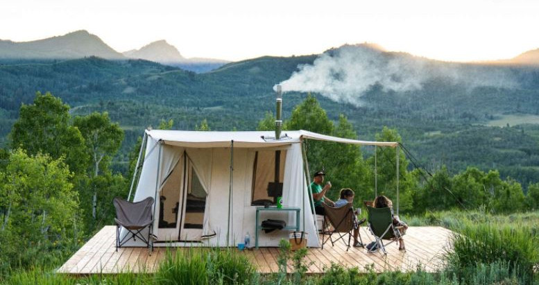 Is the Wood Burning Tent Stove the Best Way to Heat My Bell Tent?
