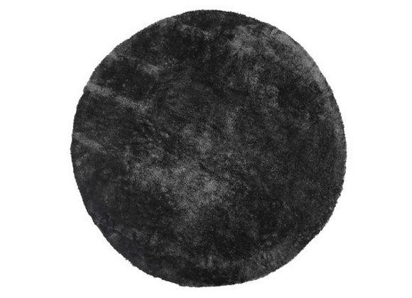 Round Grey Rug [1.8m diameter]
