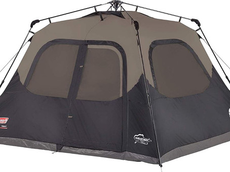Coleman 6-Person Instant Cabin Tent with Sunblock