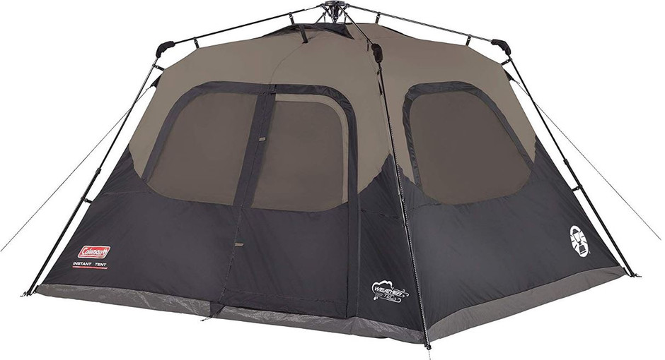 Best 6-Person Instant Cabin Tent for 2020 with                       Sunblock by Coleman