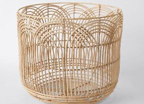 Round Rattan Basket [38cm x 42cm]