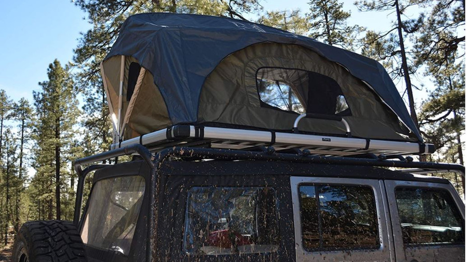 What are the new and different styles of tents available on the market today?