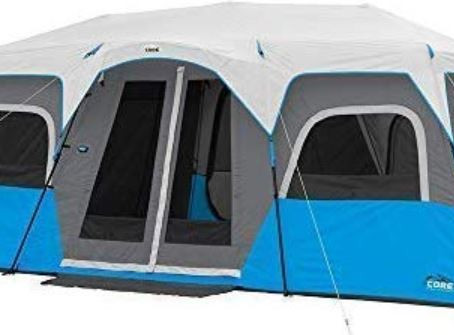 CORE 12 Person Lighted Cabin Tent