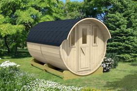Barrel cabin - no porch