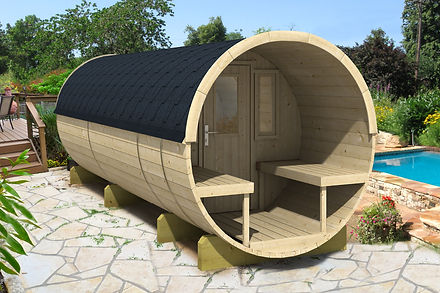 Large Barrel Cabin