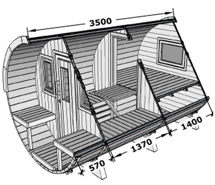 Barrel 350 internal dimensions