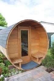 Barrel Cabin front door