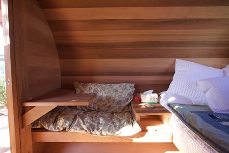 barrel cabin seating