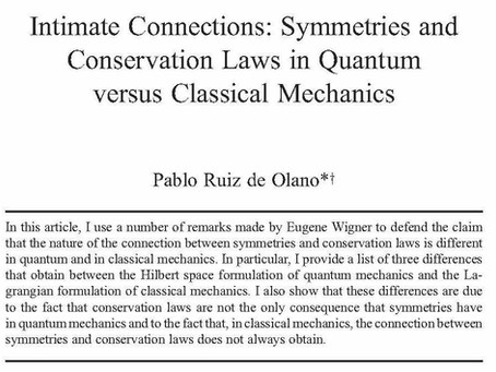 Pablo Ruiz de Olano on Symmetries