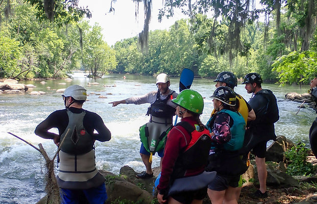 Whitewater 101 Spring Session