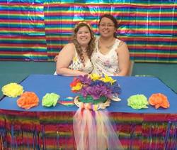 Rachael and Stephanie Sanchez