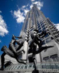 SunTrust Plaza, 1993, sculpture 'Ballet Olympia' by Paul Manship.