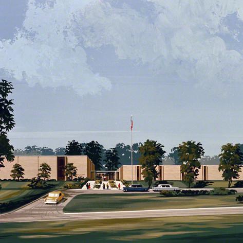 Henderson Mill Road High School, 1967