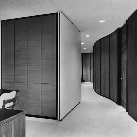 Bell Telephone and Vice President's Suite, 1962