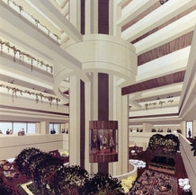 Nob Hill Hyatt Hotel, 1970