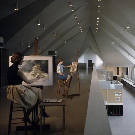 Agnes Scott College, Dana Fine Arts Building, 1965