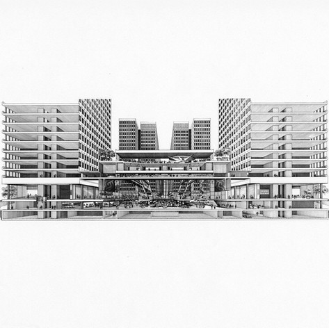 Peachtree Center, 1968
