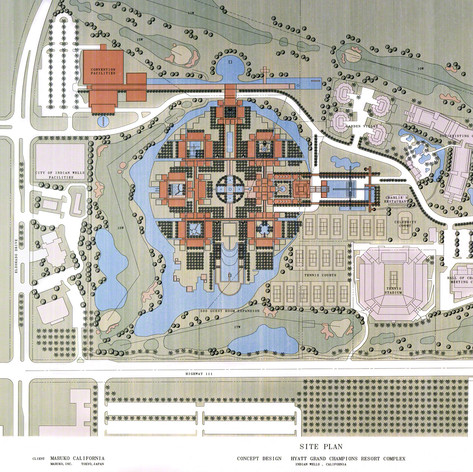 Hyatt Grand Champions Resort Complex, 1991