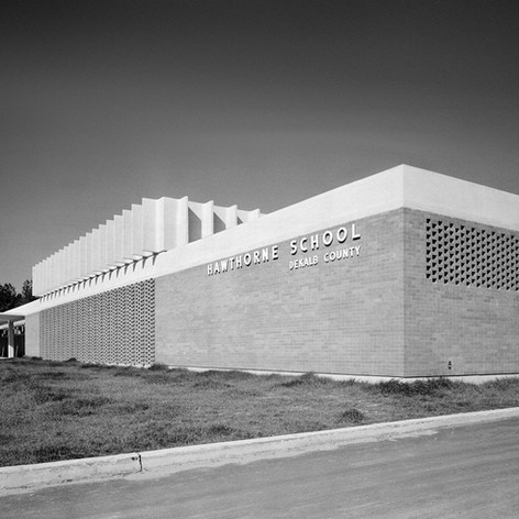 Hawthorne Elementary School, 1962