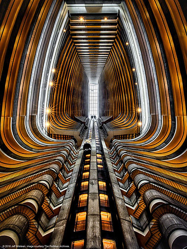 Atlanta Marriott Marquis, atrium, 2016
