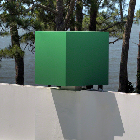 Green Cube, 1986