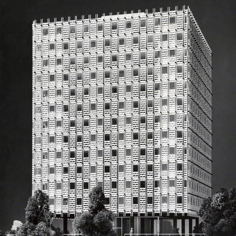 Slaton Manor Apartments, 1958