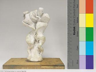 maquette for sculpture 'Le Couple', John C. Portman, Jr.