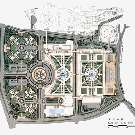 Chongqing International Commercial City Master Plan, 1998