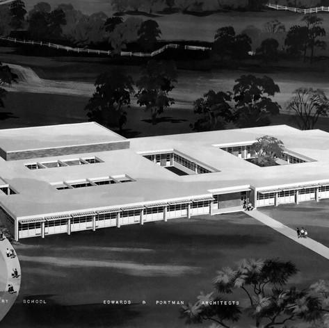 Sequoyah Elementary School, 1960