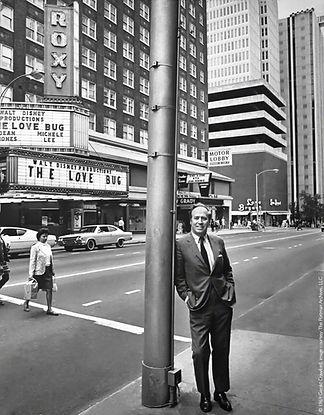 John C. Portman Jr.,Peachtree Street, 1969