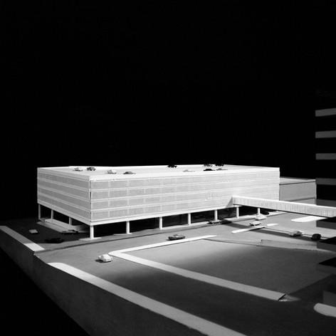 Continental Trailways Bus Terminal and Parking Garage, 1968