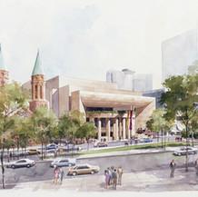 Georgia Center for the Arts, 1992