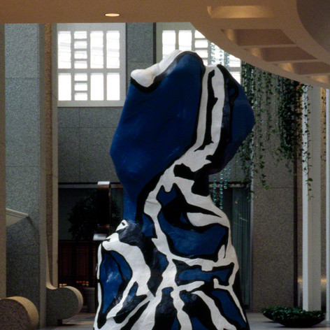 Blueboy (Homage to Dubuffet), 1992