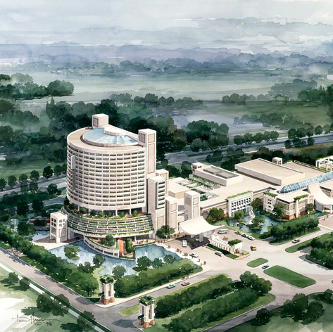 Shandong Hotel and People's Hall, 2002