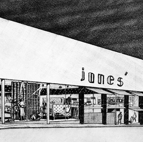 Jones Mercantile Renovation, 1962