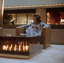 Square Lighted Table, 1973
