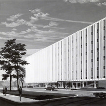 Scott Huggins Office Building, 1956