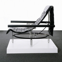 Sling Chair with Shawl Cover, 1996